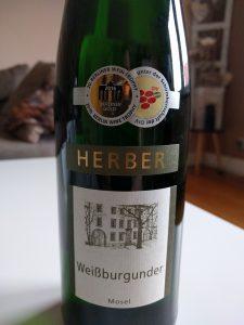 Herber Weißburgunder 2014 Weißwein Jahrgang: 2014