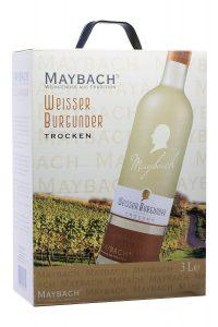 Maybach Weißer Burgunder trocken Bag-in-Box Weißwein